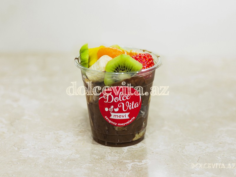 Mix fruit dessert M size