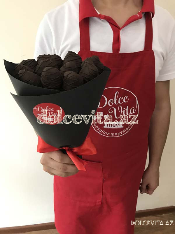 Choco strawberry bouquet 11 pieces