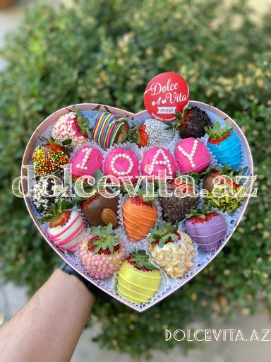 Heart-shaped box 20 pieces