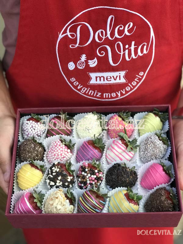 Special choco strawberry box 20 pieces